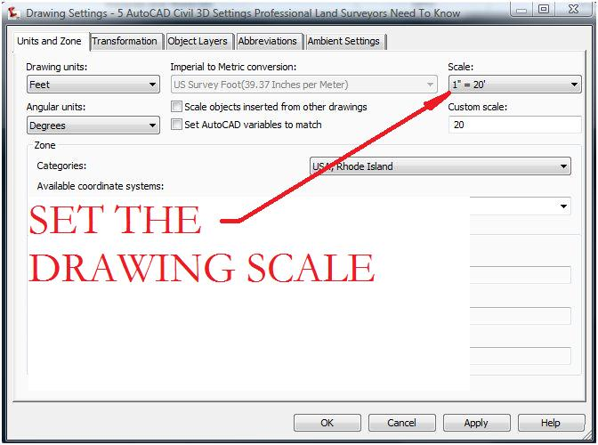 Drawing Scale Factor Autocad Submited Images