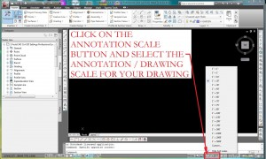 AutoCAD Civil 3D Drawing Annotation Scale Settings
