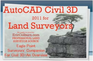 Eagle Point Surveyors' Companion For Civil 3D Overview Professional Land Surveyor Video
