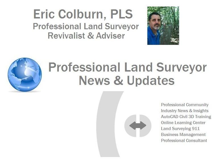 Professional Land Surveyor News