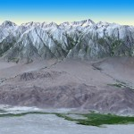 NASA Terra Spacecraft Views Mt. Whitney