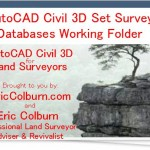 AutoCAD Civil 3D Set Survey Databases Working Folder Video