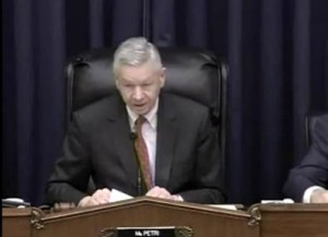 Chairman Thomas Petri's Opening Statement at GPS Hearing