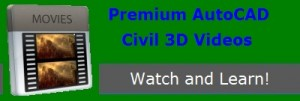 Premium AutoCAD Civil 3D Videos