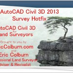 AutoCAD Civil 3D 2013 Survey Hotfix Video