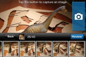 Autodesk 123D Catch for iPhone