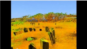 Drombeg Stone Circle Laser Scanning Video