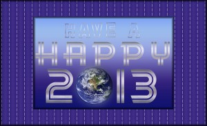 Happy New Year 2013!