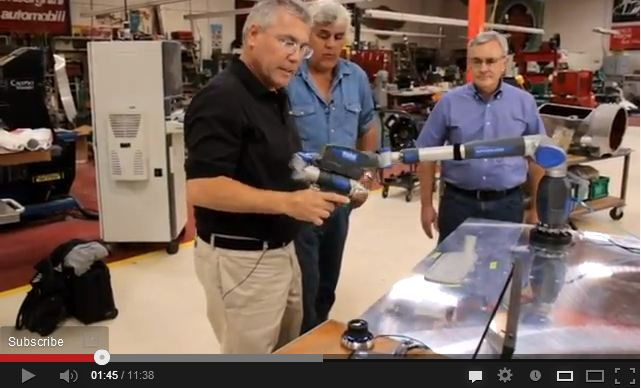 Surveyor's Saturday Serendipity Jay Leno's Garage Faro 3D Laser Scanner Video