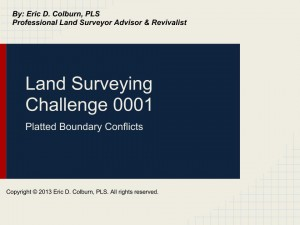 Land Surveying Challenge 0001