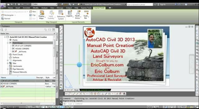 autocad civil 3d 2013 manual point creation video eric colburn pls rh ericcolburn com manual autocad civil 3d 2013 pdf tutorial autocad civil 3d 2013 pdf